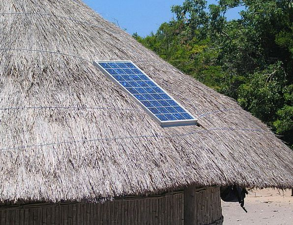 africa power crisis, make use of solar in rural area