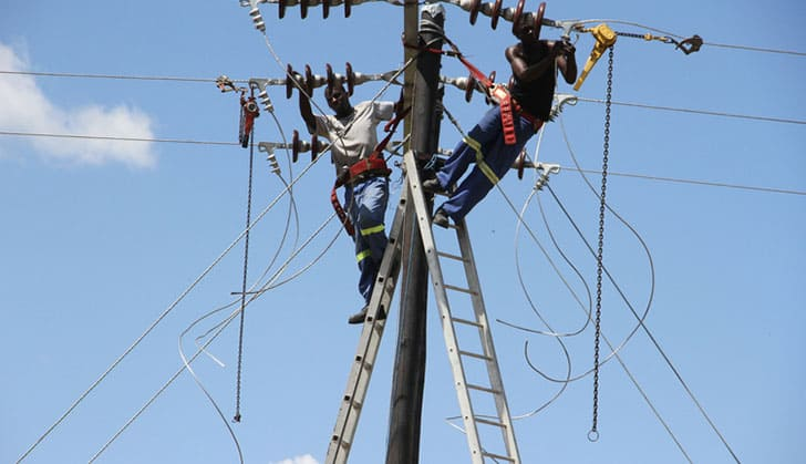power supply in africa