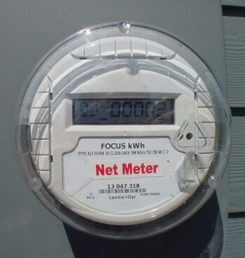 on-grid solar system net-meter