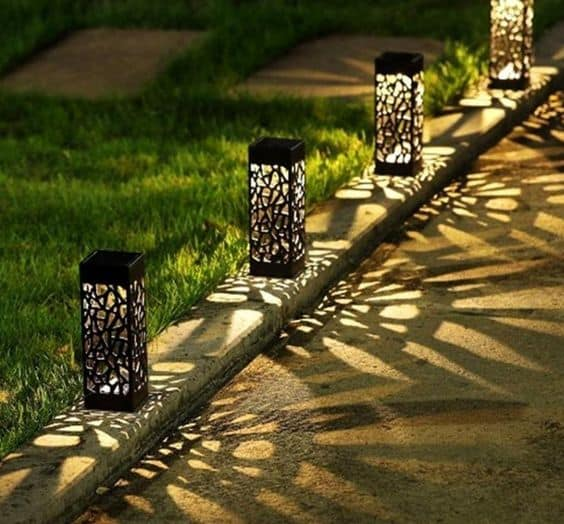 solar deck light
